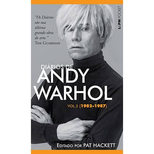 Livro - Diários de Andy Warhol (1982-1987) - Vol. 2