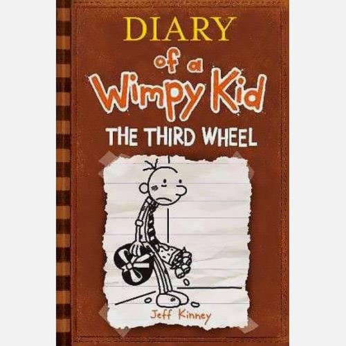 Livro - Diary Of a Wimpy Kid 7: The Third Wheel