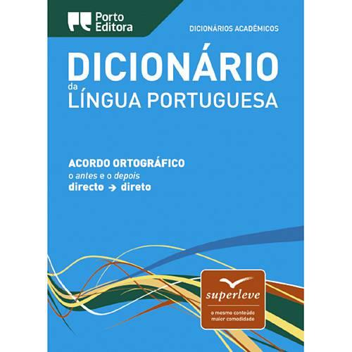 Livro - Dicionário Acadêmico da Língua Portuguesa - Superleve