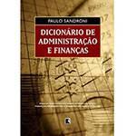 Livro - Dicionário de Administração e Finanças