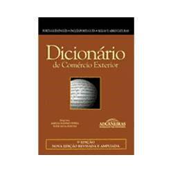 Livro - Dicionário de Comércio Exterior: Português/Inglês-Inglês/Português