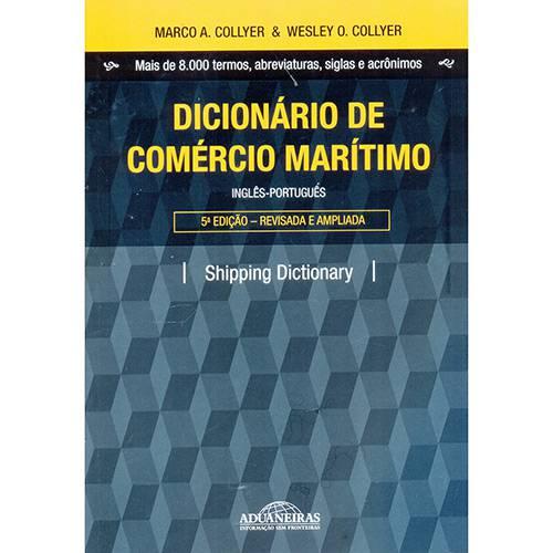 Livro - Dicionário de Comércio Marítimo (Inglês-Português)