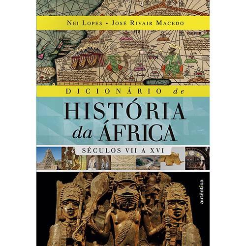 Livro - Dicionário de História da África