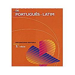 Livro - Dicionário Editora de Português - Latim