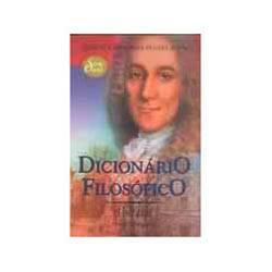 Livro - Dicionario Filosofico - Coleção Obra-Prima de Cada Autor