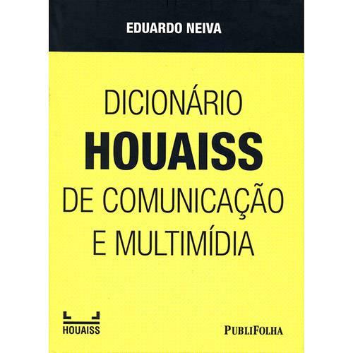 Livro - Dicionário Houaiss de Comunicação e Multimídia