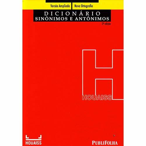 Livro - Dicionário Houaiss de Sinônimos e Antônimos