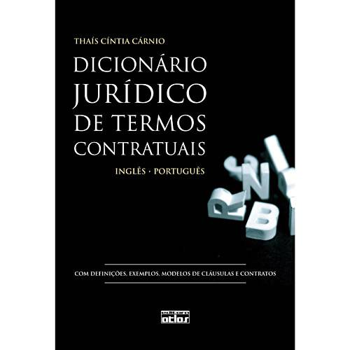 Livro - Dicionário Jurídico de Termos Contratuais