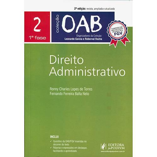 Livro - Direito Administrativo - Coleção OAB 1ª Fase - Vol. 2