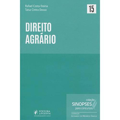 Livro - Direito Agrário - Sinopses para Concursos - 1ª Ed.