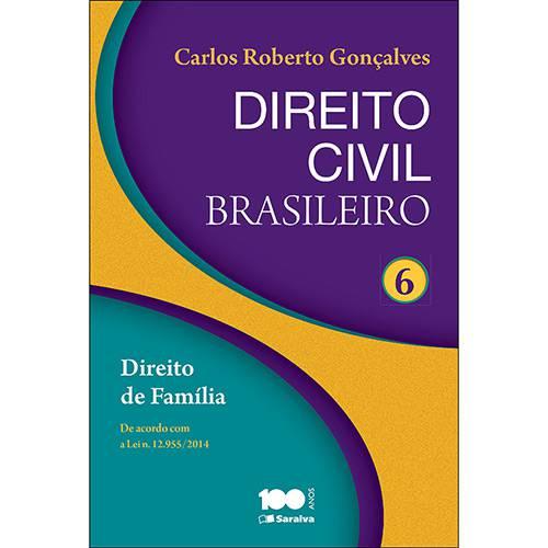 Livro - Direito Civil Brasileiro: Direito de Família - Vol. 6