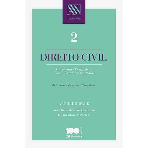 Livro - Direito Civil: Direito das Obrigações e Teoria Geral dos Contratos - Vol.2
