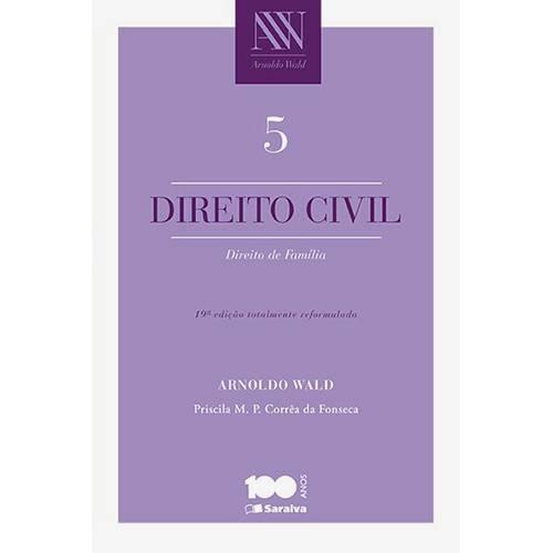 Livro - Direito Civil: Direito de Família - Vol.5