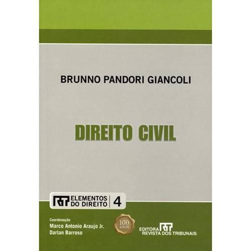 Livro - Direito Civil Elementos do Direito Vol. IV