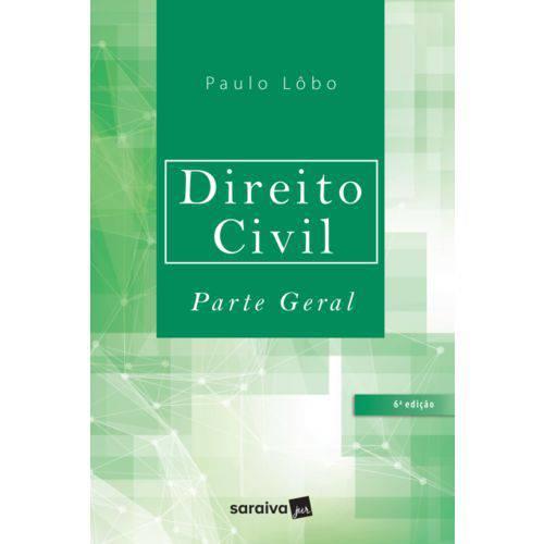 Livro - Direito Civil - Parte Geral - Lôbo