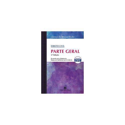 Livro - Direito Civil - Parte Geral - Mello