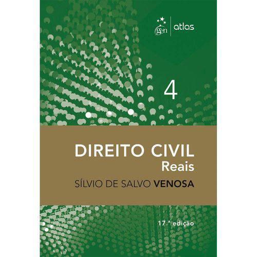 Livro - Direito Civil - Reais - Vol. 4 - Venosa