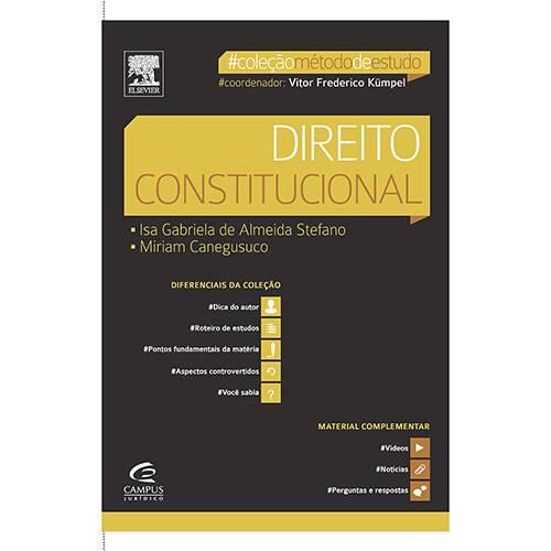 Livro - Direito Constitucional - Coleção Método de Estudo