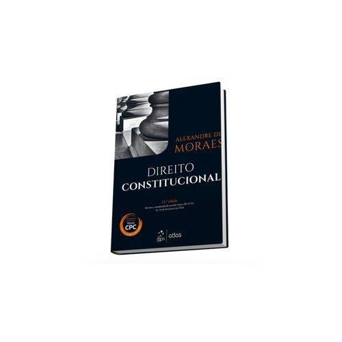 Livro - Direito Constitucional - Moraes