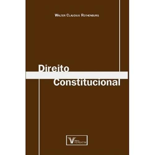Livro - Direito Constitucional