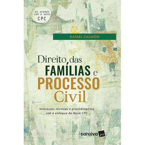 Livro - Direito das Famílias e Processo Civil