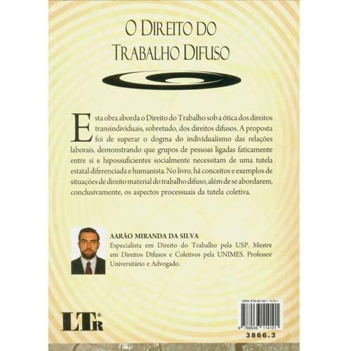 Livro - Direito do Trabalho Difuso, o
