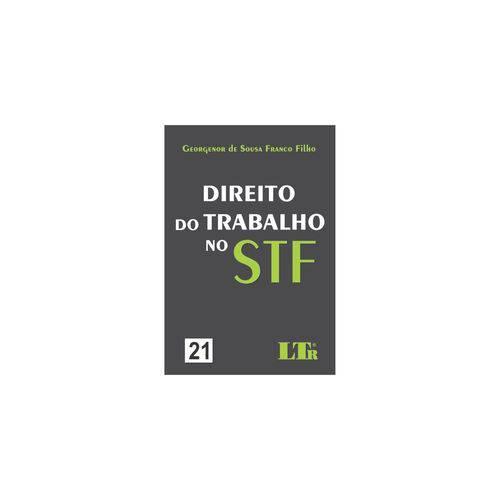 Livro - Direito do Trabalho no Stf - N. 21