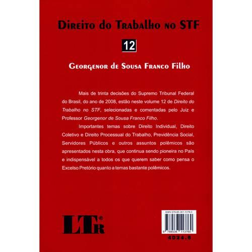 Livro - Direito do Trabalho no STF - Nº 12