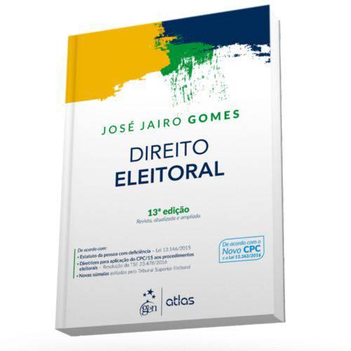 Livro - Direito Eleitoral - Gomes