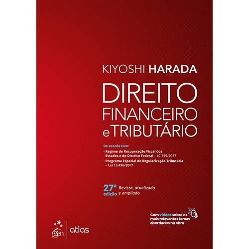 Livro - Direito Financeiro e Tributário