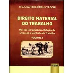 Livro - Direito Material do Trabalho - Vol. 1