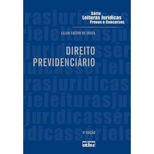 Livro - Direito Previdenciário - Série Leituras Jurídicas - Provas e Concursos - Vol. 27