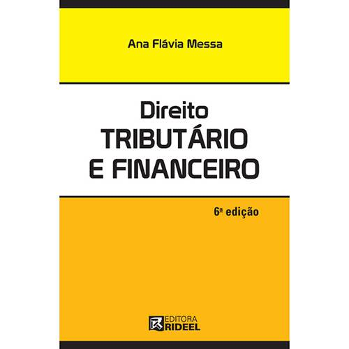 Livro - Direito Tributário e Financeiro