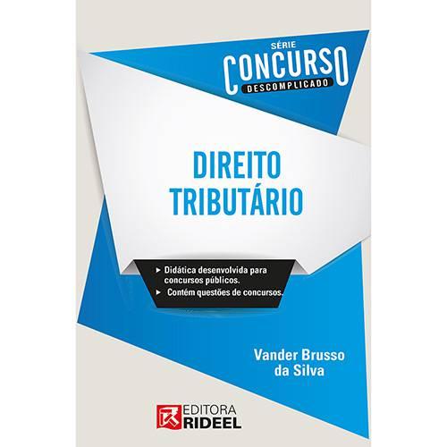 Livro - Direito Tributário - Série Concurso Descomplicado