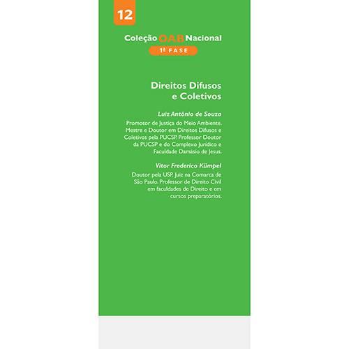 Livro - Direitos Difusos e Coletivos - Primeira Fase - Vol.12