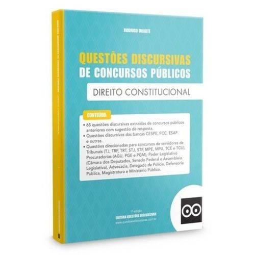 Livro - Discursivas de Direito Constitucional para Concursos
