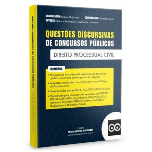 Livro - Discursivas de Direito Processual Civil - 2018