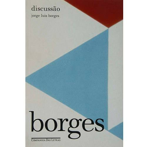 Livro - Discussão - Coleção Bibilioteca Borges