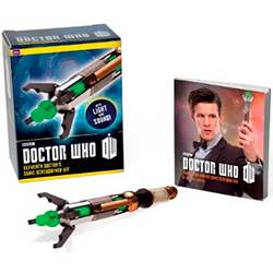 Livro - Doctor Who: Eleventh Doctor''s Sonic Screwdriver Kit