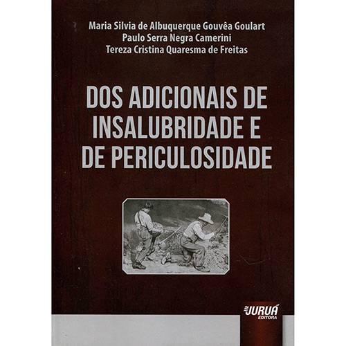 Livro - dos Adicionais de Insalubridade e de Periculosidade