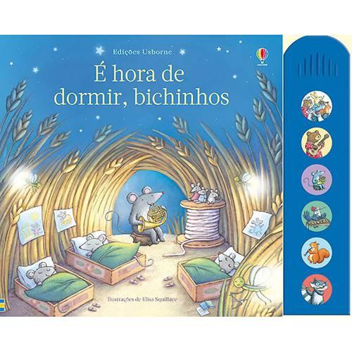 Livro - é Hora de Dormir: Bichinhos