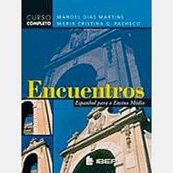 Livro - Ecuentros: Espanhol para o Ensino Médio