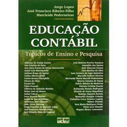 Livro - Educação Contábil