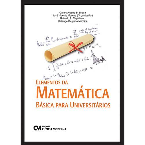 Livro - Elementos da Matemática Básica para Universitários