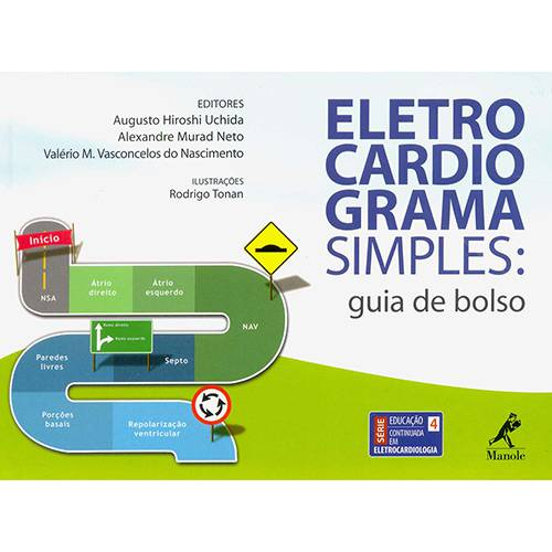 Livro - Eletrocardiograma Simples: Guia de Bolso