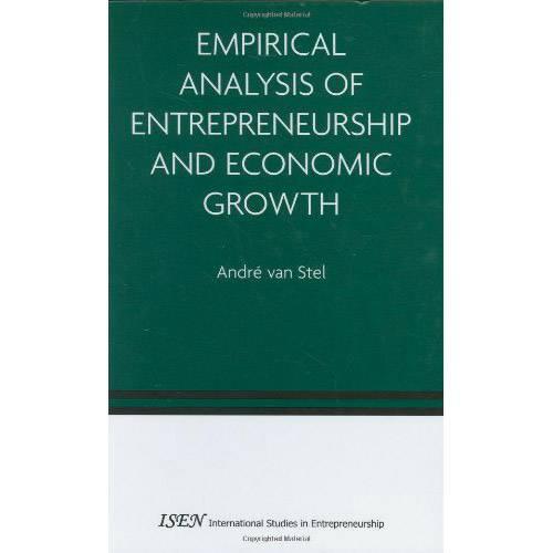 Livro - Empirical Analysis Of Entrepreneurship And Economic Growth