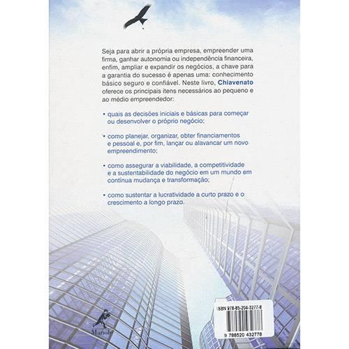 Livro - Empreendedorismo: Dando Asas ao Espírito Empreendedor