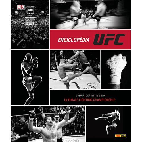 Livro - Enciclopédia UFC: o Guia Definitivo do Ultimate Fighting Championship