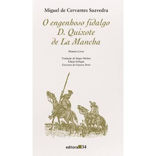 Livro - Engenhoso Fidalgo Dom Quixote de La Mancha - V.1