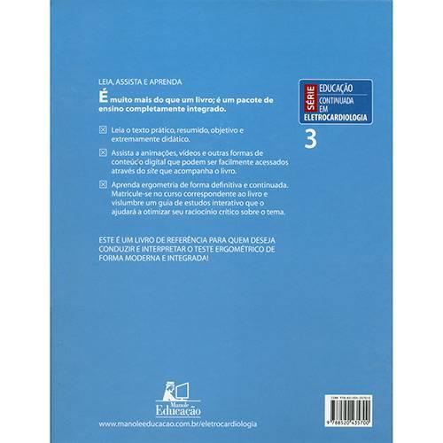 Livro - Ergometria: Teoria e Prática - Série Educação Continuada em Eletrocardiologia
